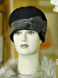 For a unique yet timeless style, go vintage. Razzle Dazzle on Prince Road carries this cloche hat from the 1920s for $45.