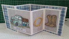 Jo Slaney - Independent Stampin' Up! Demonstrator: Fancy Double Z Fold card