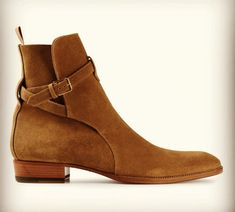 Mens Suede Boots, High Ankle Boots, Suede Leather Shoes, Brown Leather Boots, Brown Boots, Mens Boot, Men's Leather, Brown Suede, Real Leather