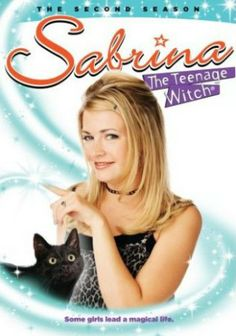 Sabrina, the teenager witch. Another one of my favorite TV series of childhood.