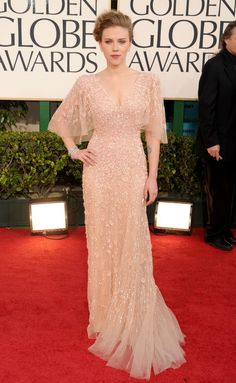 Scarlett Johansson in Elie Saab – 2011 Golden Globe Awards - So gorgeous