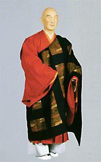 Portraying a Japanese Buddhist Monk - Kesa