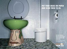 New Ad Media Indoor: Bathroom, 1