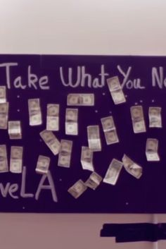 People Were Told To 'Take What You Need' From A Board Full Of Money. What Happened Next Will Amaze You