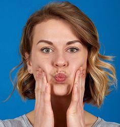 Pofuduk yanaklar  Ağzınızdan derin nefes alıp verin ve ağzınızı havayla doldurup kapatın. - Sayfa: 8