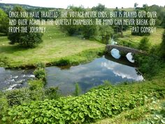 Quote of the Week- Pat Conroy Travel Quote- www.afriendafar.com #travelquote #haddonhall #england