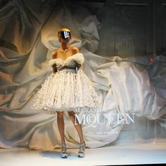 Alexander McQueen Fall 2012 preview at Saks