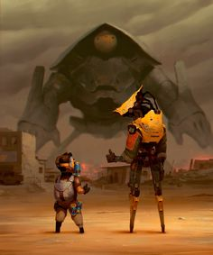 The Art Of Animation, Alexandre Diboinehttp://cghub.com/images/tag/zedig-alexandre-diboine-painting-robots/
