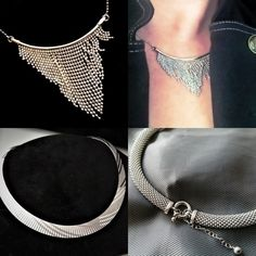 Bijuterii argint Israel, Chokers, Gold, Jewelry, Fashion, Moda, Jewlery, Jewerly, Fashion Styles
