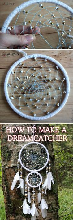 NEW! Dreamcatcher DIY tutorial, step to step indian dreamcatcher https://fastmade.blogspot.com/2016/09/new-step-to-step-dreamcatcher-diy.html
