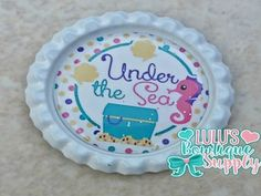 Under The Sea Finished Bottle Cap