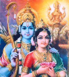 Veel plaatjes van Sita & Ram / Many pictures and drawings of Sita & Ram