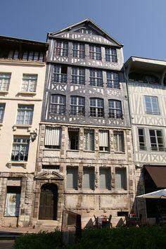 Maison de maître drapier, rue Eau-de-Robec