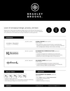 Well Designed Resumes 70 Welldesigned Resume Examples For Your Inspiration  Resume