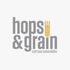 Hops and Grain is a World Beer Cup Gold Medal winning craft brewery in Austin Texas. Committed to sustainable brewing and grateful to be living our dream. Brewery Logos, Brewery Design, Bar Logo, Beer Brands, Brew Pub, Tap Room, Distillery, Craft Beer, Grains