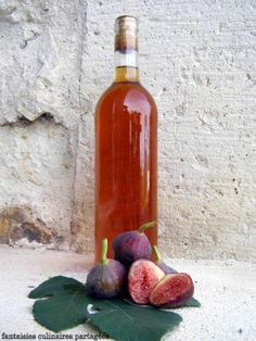 Le vinaigre de figues Antipasto, Raw Food Recipes, Cooking Recipes, Old Fashioned Drink, Edible Gifts, Spices, I Foods, Homemade, Canning