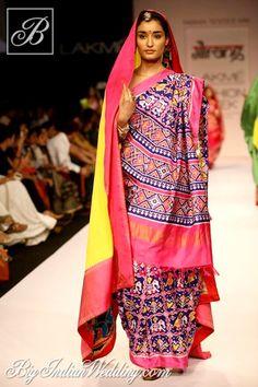 Gaurang Shah designer saree collection