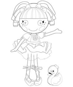 Lalaloopsy Coloring Pages - Colouring for Kids