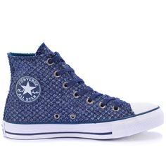 Tênis Converse All Star CT As Hi Marinho CT03220001