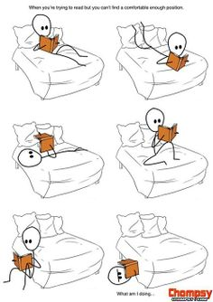 Trying to find that right positions to read in but nothing seems quite right.  #reading #comfort #booklover