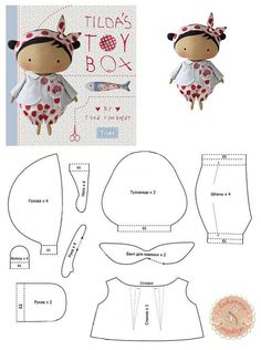 tildas toy box - Pesquisa Google