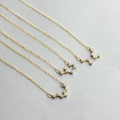 Crystal Zodiac Necklace Constellation Jewelry Birthday Gift Sorority Sister Gift Gemini Necklace  .... Perfect gift for anniversaries, birthdays, and graduations, this constellation necklace is a subtle and sophisticated way to add just the right amount of shine to almost any ensemble. You can also gift these to your sorority sisters, bridesmaids, and best friends for a gift they are sure to adore!   M A T E R I A L Gold Plated / Silver Plated / Rose Gold Plated  Plated jewelry is a...