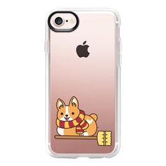 Witch Corgi - iPhone 7 Case And Cover ($40) ❤ liked on Polyvore featuring accessories, tech accessories, iphone case, apple iphone case, iphone cases, clear iphone case and iphone cover case