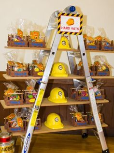 Construction party idea