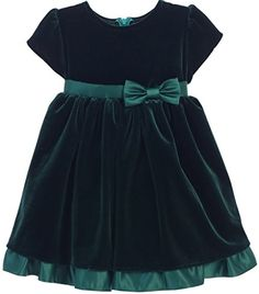 Little Baby Girls Velvet Peekaboo Tulle Winter Flower Girls Dresses Green S -- Continue to the product at the image link. Green Toddler Dress, Green Flower Girl Dresses, Flower Girls, Baby Frocks Designs, Kids Frocks Design, Frocks For Girls, Little Girl Dresses, Girls Dresses, Simple Frock Design
