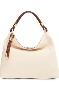 Michael Kors 'Large Skorpios' Leather Hobo available at #Nordstrom