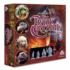 Will Jen and Kira manage to find the Shard and heal the Dark Crystal? Find out in this fun family board game for 2 to 4 players based on the classic The Dark Crystal movie by Jim Henson