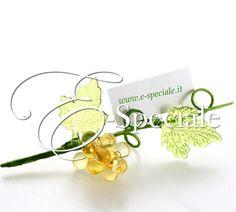 Grappolo d'uva con Foglie - Prodotti Tema Vino - Shop Per Tema - accessori e gadget per matrimoni e feste - E-speciale