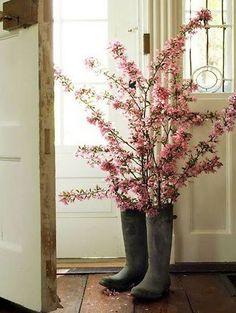 flores de botas