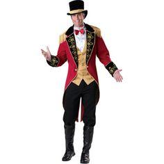 Halloween Circus Animal Trainers Cosplay Costume