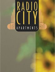 3rd option. radio city apartments. has a kitchenette and is in the middle of everything.