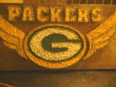 packers string art