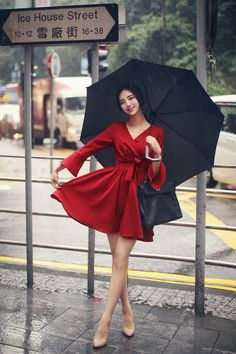 Korean Fashion – How to Dress up Korean Style – Designer Fashion Tips Cute Fashion, Asian Fashion, Fashion Models, Girl Fashion, Cute Dresses, Casual Dresses, Fashion Dresses, How To Look Classy, Look Chic