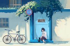 Most Beautiful Wallpaper, Unique Wallpaper, Wallpaper Pc, Aesthetic Desktop Wallpaper, Some Beautiful Pictures, Pretty Drawings, Environmental Art, Aesthetic Anime, Cute Wallpapers