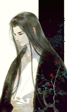 Lord Amatsu! from The book black blossom in the healer series!