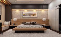 Bedroom Furniture Design, Interior Design Bedroom, Bedroom Bed Design, Bed Design, Minimalist Bedroom, Modern Bedroom Interior, Home Bedroom, Modern Bedroom, Luxurious Bedrooms