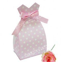 Caixa vestido provençal lilás poá mod:212 Molde para imprimir