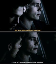 #TeenWolf #5x17 - I'm going with Stiles' theory.