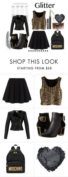 Gold and Glitter by destinyfaith1207 on Polyvore featuring Temperley London, Polo Ralph Lauren, Kat Maconie, Moschino, women's clothing, women's fashion, women, female, woman and misses