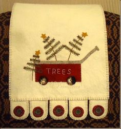 Image result for christmas scenes from felt