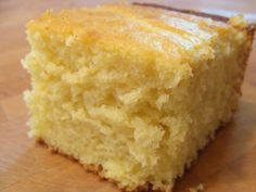 "Sweet Cornbread: super moist and flavorful! I used almond milk, blackberry twist honey, 2T butter, and reduced sugar to 1/2 cup. Baked in glass 8""x8"" dish at 325F for 36 mins. Made 10/7/16"