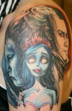 Start of my Tim Burton sleeve Tim Burton, Tattoo Inspiration, I Tattoo, Sleeve Tattoos, Tatoos, Tattoo Ideas, Ink, Inspired, Random