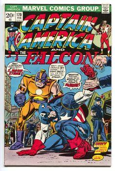Captain America 170 - Gil Kane