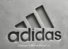 Marmo Stucco ltd. Concrete Polished plaster 'House of adidas' Harrods, London