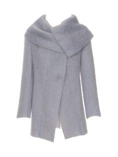 """Burda.  102-102012-DL Jacke - drapierter Kragen Mohairflausch Stoffempfehlung: Weiche Jackenstoffe aus Wolle oder Mischgewebe. Nur Stoffe mit zwei """"schönen"""" Seiten verwenden"""