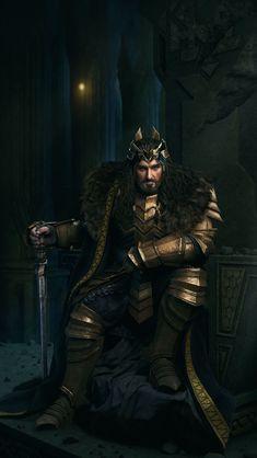Original CG artwork by Turbid Wine Legolas And Thranduil, Gandalf, Aragorn, Hobbit Art, O Hobbit, Fantasy Dwarf, Medieval Fantasy, Sherlock Holmes Benedict, Sherlock Bbc
